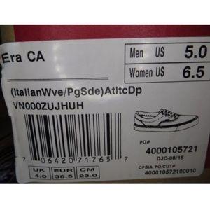 211bf122526bb1 Vans Shoes - Vans Era CA Italian Weave Suede Atlantic Deep NEW